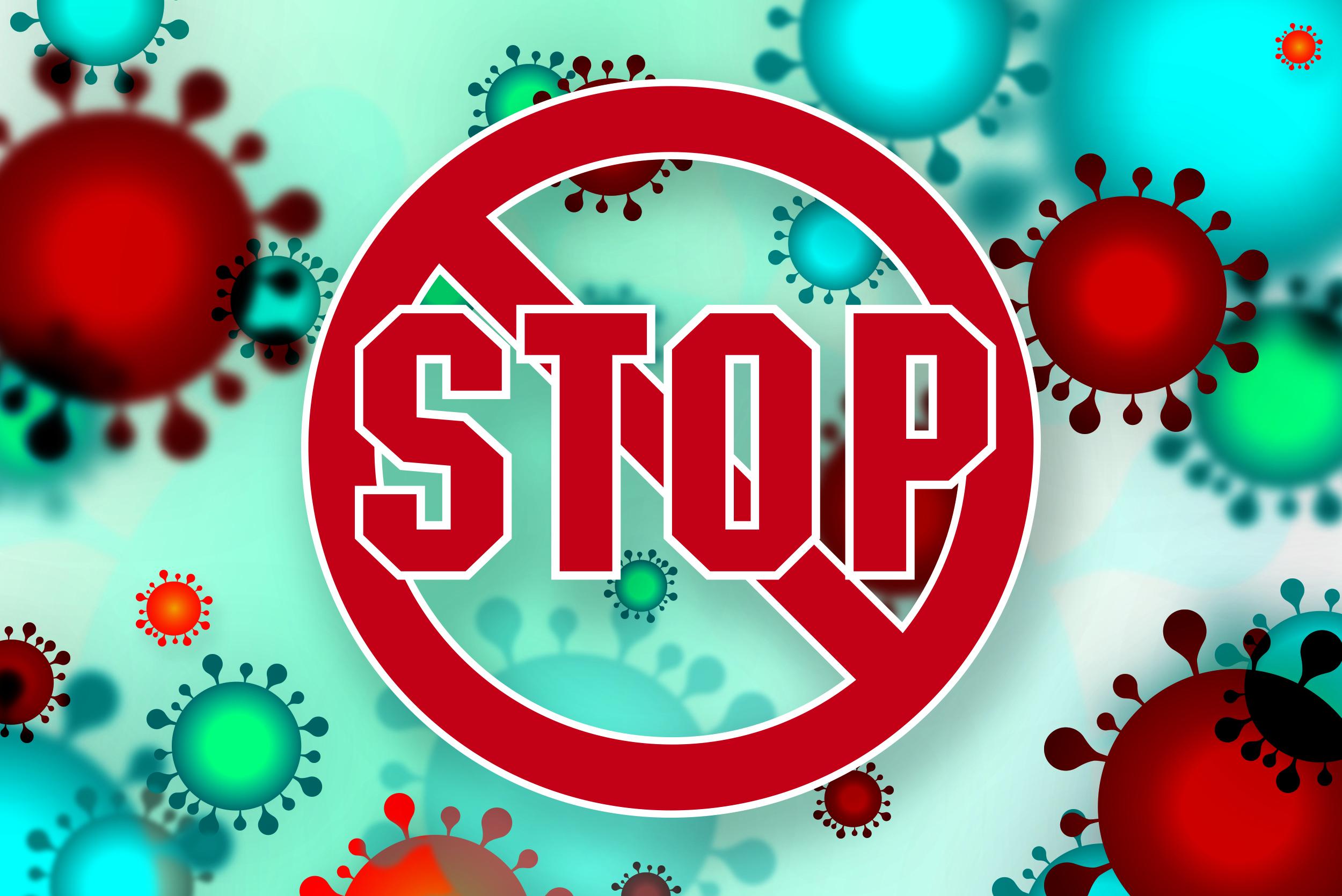 stop coronawirus szajder